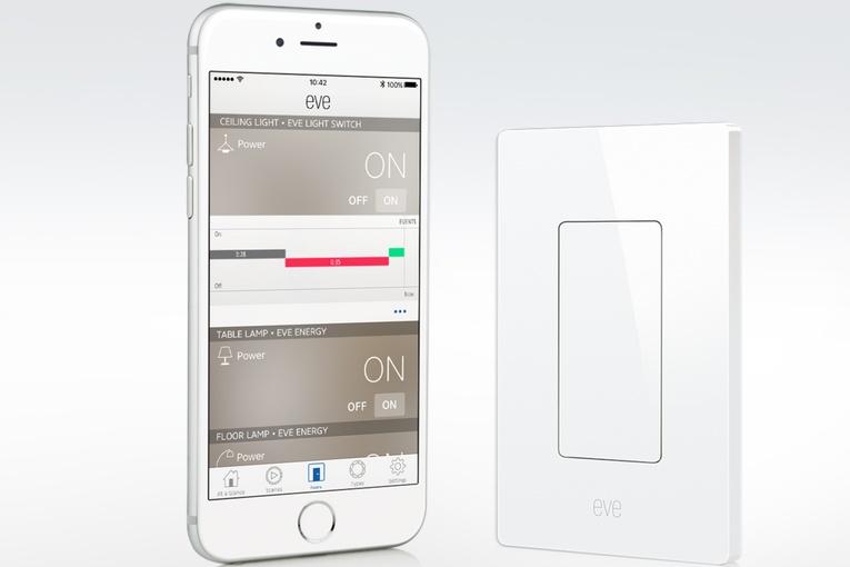 eve light switch der lichtschalter f r apples homekit system. Black Bedroom Furniture Sets. Home Design Ideas