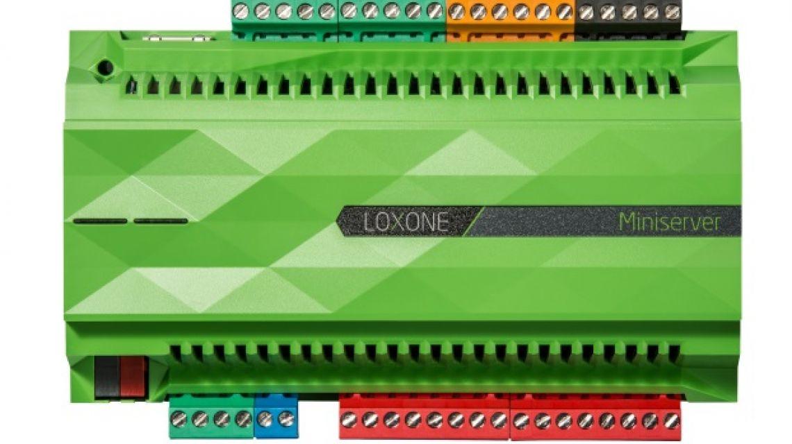 loxone miniserver das herzst ck des loxone smart home. Black Bedroom Furniture Sets. Home Design Ideas