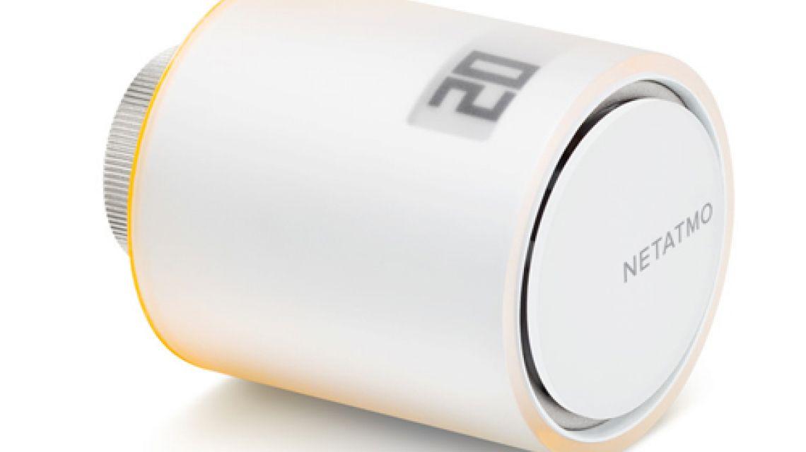 intelligente heizungssteuerung mit dem netatmo thermostat. Black Bedroom Furniture Sets. Home Design Ideas