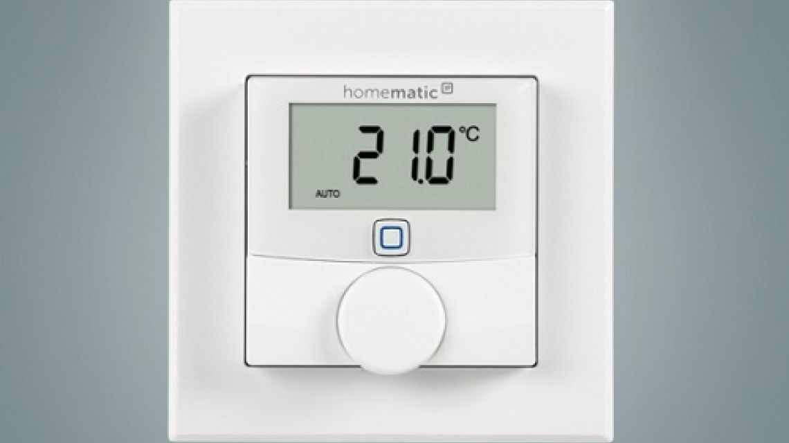 homematic ip wandthermostat mit luftfeuchtigkeitssensor. Black Bedroom Furniture Sets. Home Design Ideas