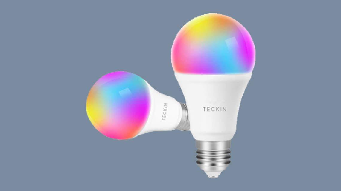 TECKIN WLAN-LED macht Lampen Alexa und Google Assistant steuerbar