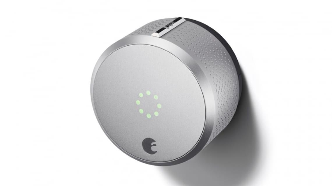 august smart lock bluetooth t rschloss mit homekit support. Black Bedroom Furniture Sets. Home Design Ideas