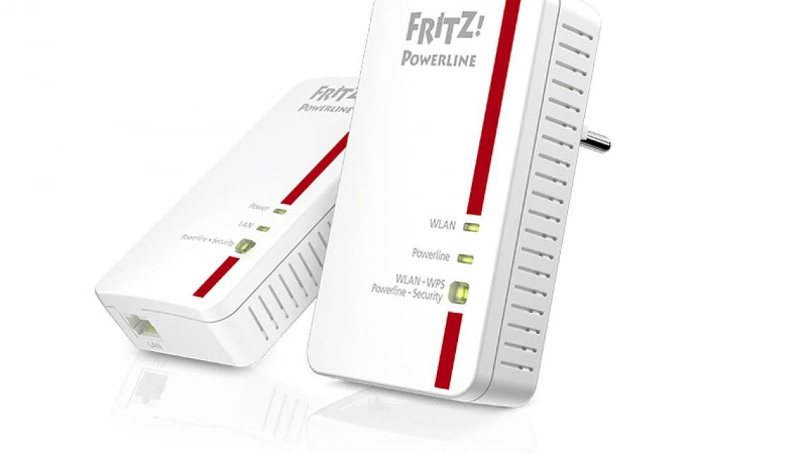 fritz powerline 1240e wlan adapter f r das netzwerk. Black Bedroom Furniture Sets. Home Design Ideas