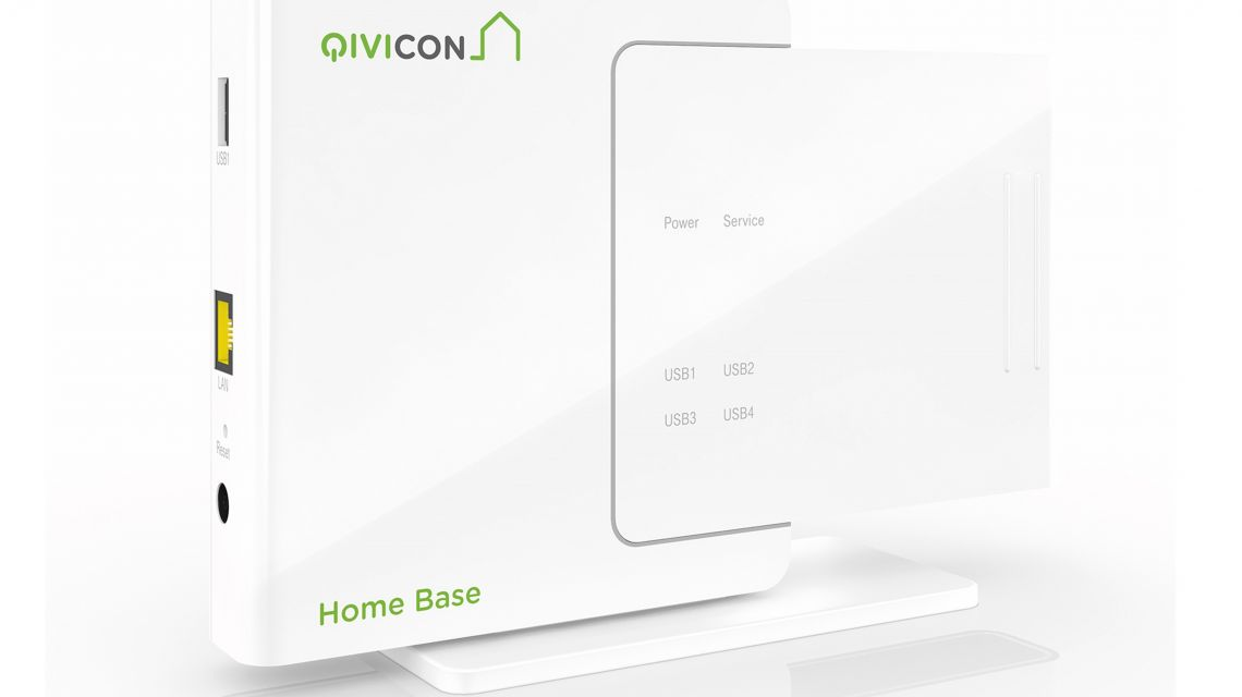 qivicon die smart home plattform. Black Bedroom Furniture Sets. Home Design Ideas