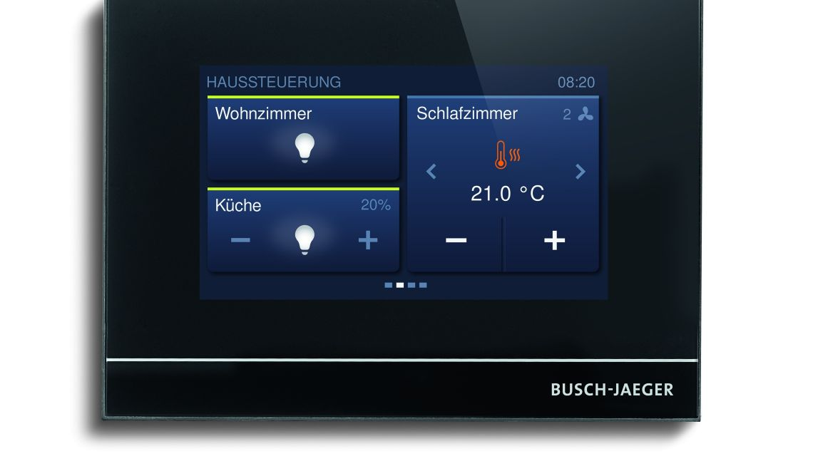 abb free at home das smart home system. Black Bedroom Furniture Sets. Home Design Ideas