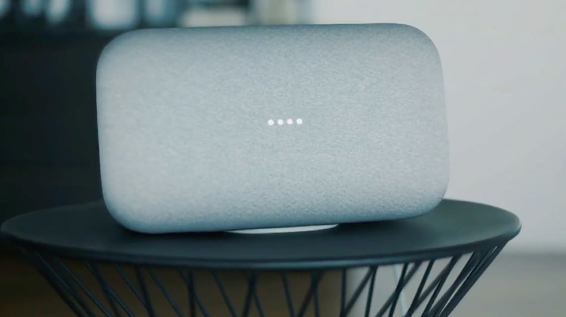 google home max im test berblick 2018 der musik streamer. Black Bedroom Furniture Sets. Home Design Ideas