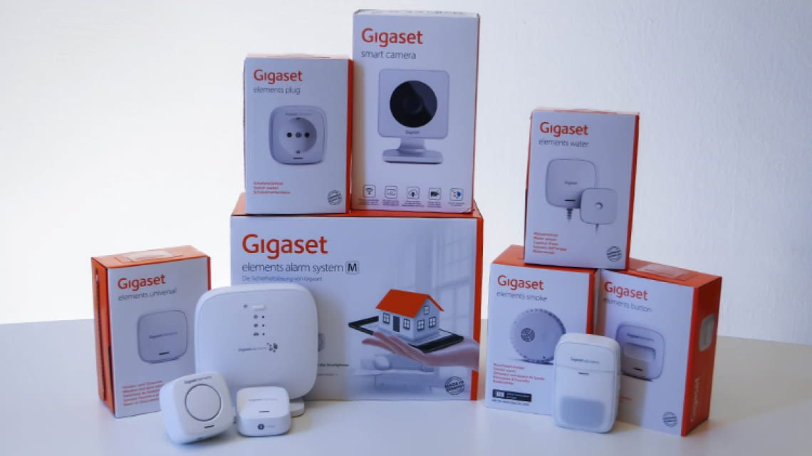 gigaset elements das smart home sicherheitssystem. Black Bedroom Furniture Sets. Home Design Ideas