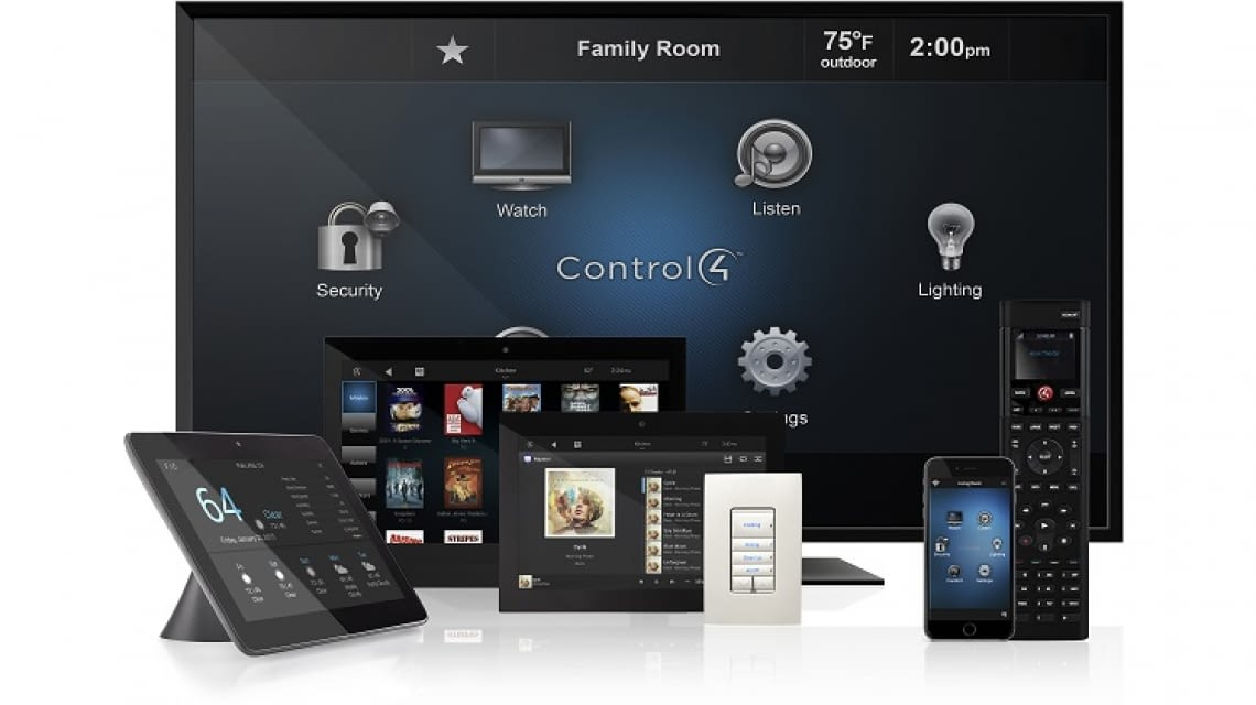 control4 umfassendes smart home system mit vielen extras. Black Bedroom Furniture Sets. Home Design Ideas