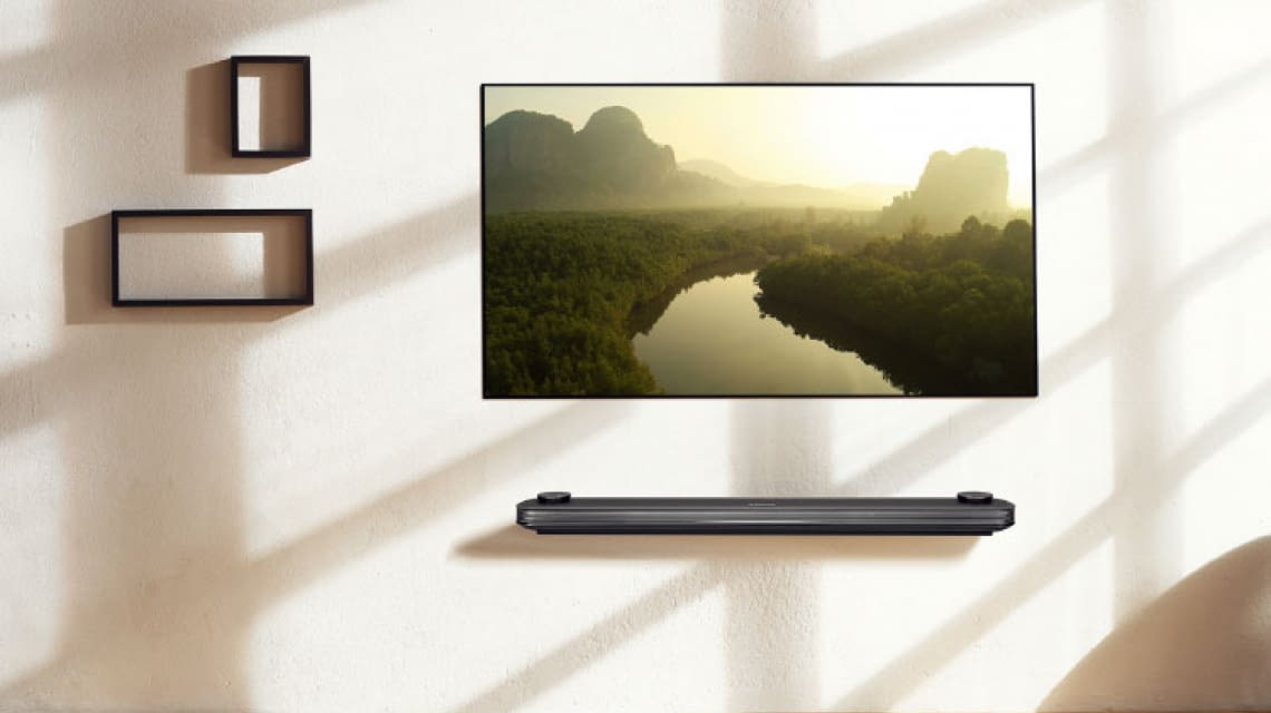 Lohnt sich ein Wallpaper TV? Der Smart TV als Poster an der Wand