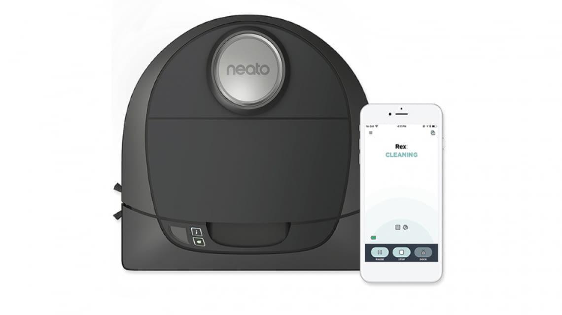 Botvac D5 Connected Lässt Sich Bequem Per Neato Robotics App Steuern