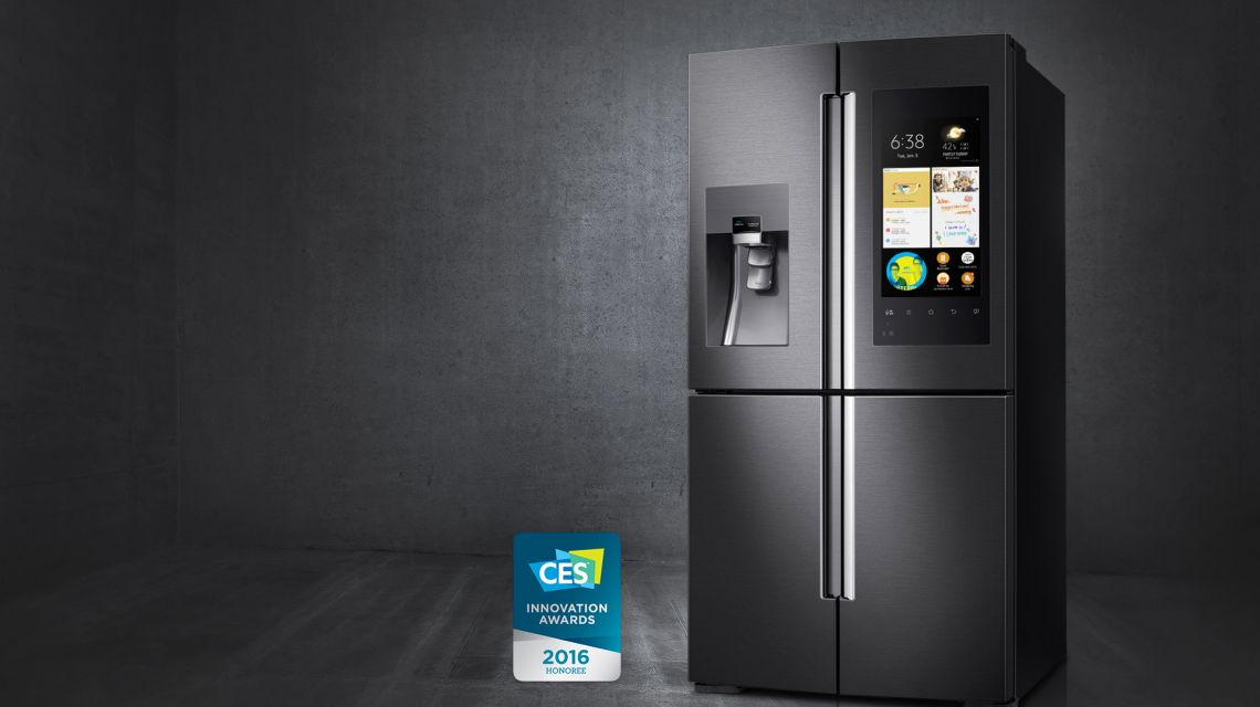Kühlschrank Samsung : Ausgescherzt quadcore kühlschrank mit full hd display kommt zu uns