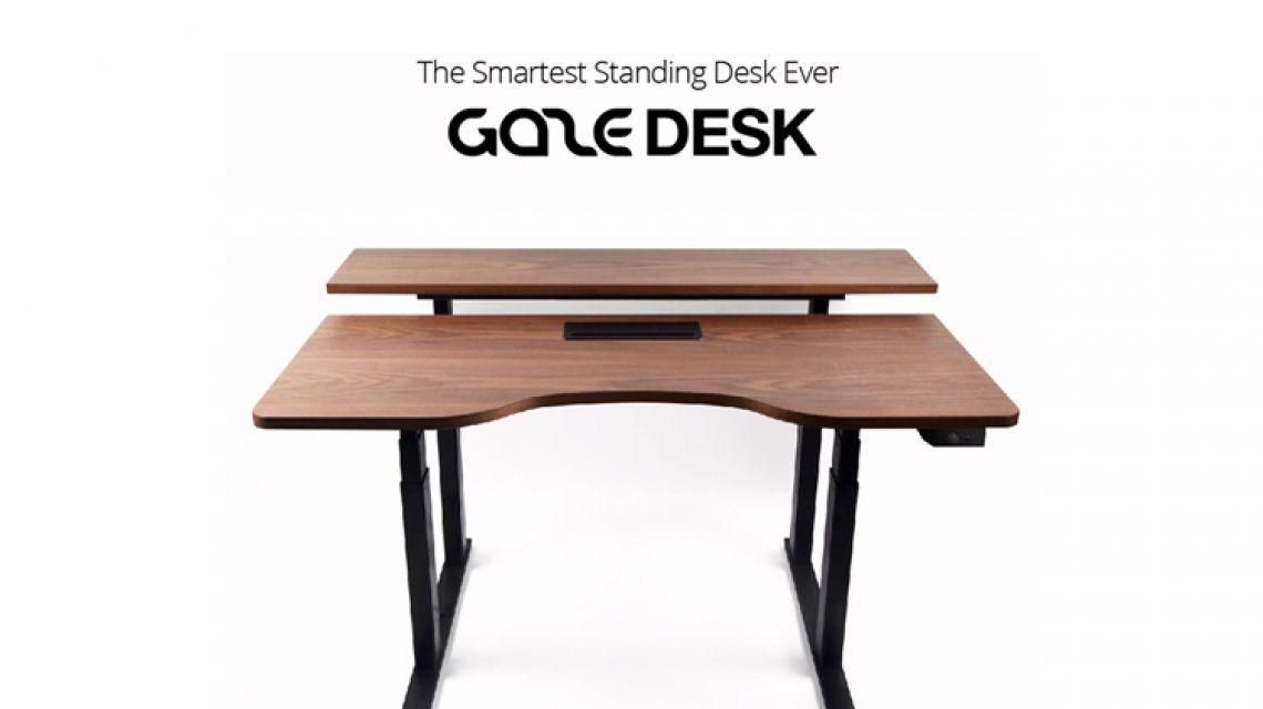 Gaze Desk Besser Arbeiten Durch Smarten Schreib Und Stehtisch