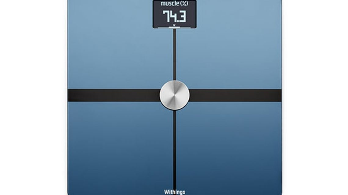 Abbildung Der Withings WS 50 Smart Body Analyze Waage