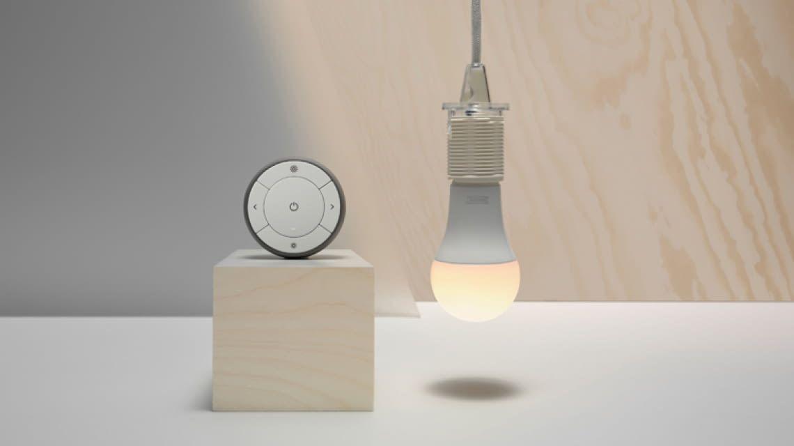 ikea tr dfri gateway und lampen einrichten. Black Bedroom Furniture Sets. Home Design Ideas