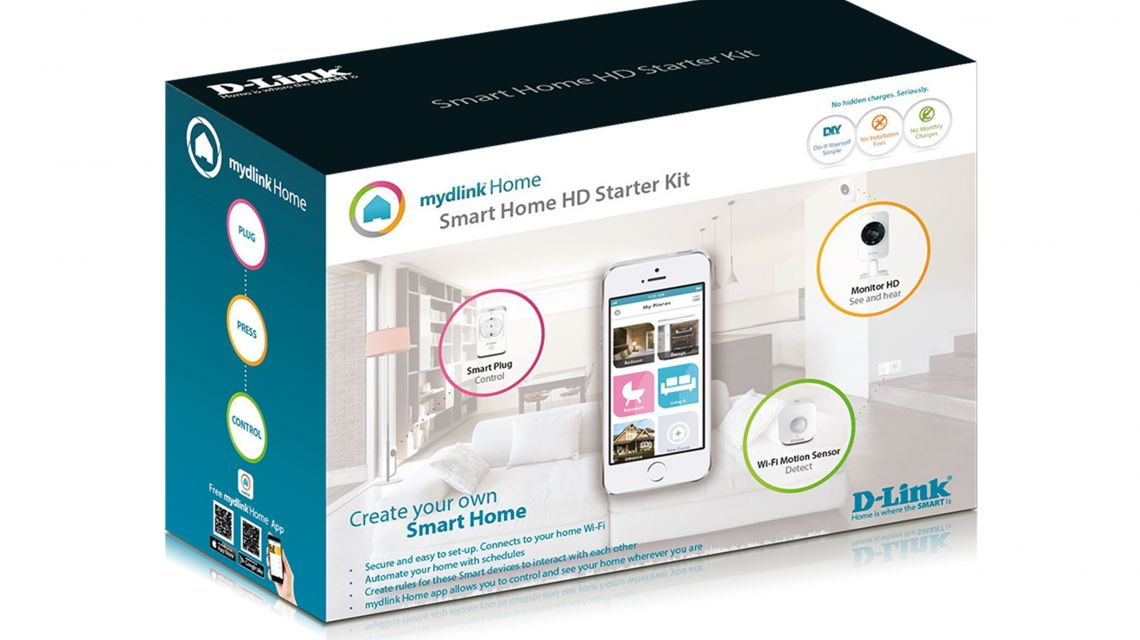 mydlink home das einsteiger smart home system. Black Bedroom Furniture Sets. Home Design Ideas