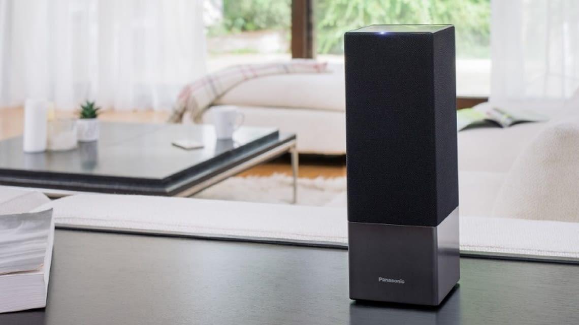 panasonic sc ga10 elegante amazon echo alternative. Black Bedroom Furniture Sets. Home Design Ideas