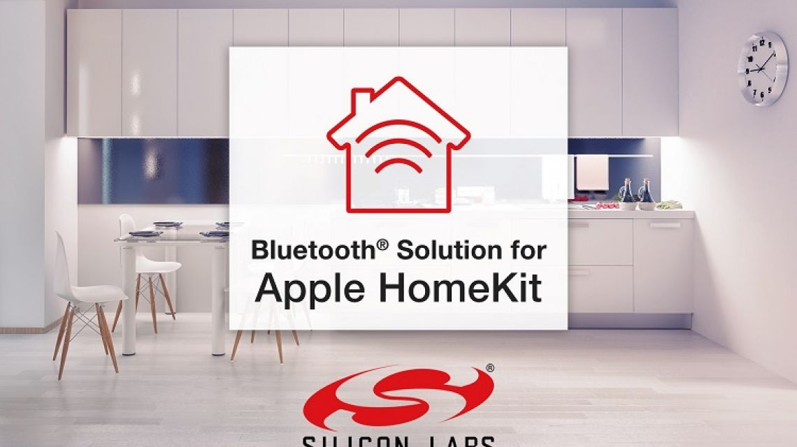 silicon labs bluetooth solution f r apple homekit. Black Bedroom Furniture Sets. Home Design Ideas