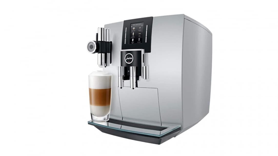 jura j6 kaffeeautomat test bersicht stiftung warentest. Black Bedroom Furniture Sets. Home Design Ideas