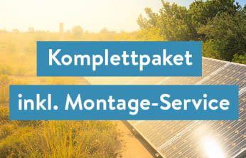 Balkonkraftwerk inkl. Montage-Service
