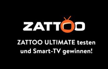Zattoo Ultimate testen und Smart-TV gewinnen