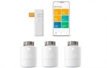Tado Smartes Heizkörperthermostat Starter Set V3+ mit drei Thermostaten bei der tink Smart Week