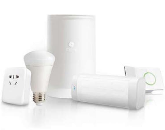 Cassia Bluetooth Hub mit kompatiblen Smart Home Geräten
