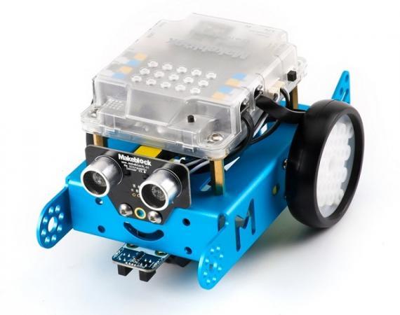 Abbildung des mBot Roboter-Bausatz von Makeblock