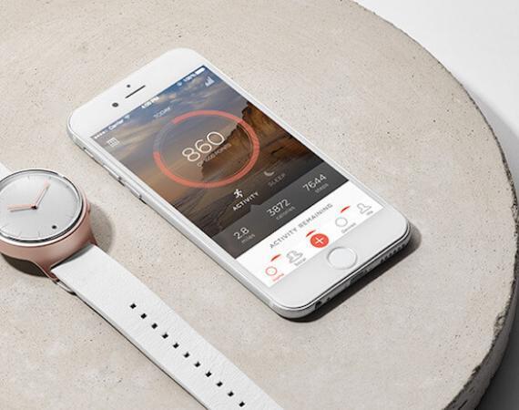 Misfit Phase Smartwatch mit App