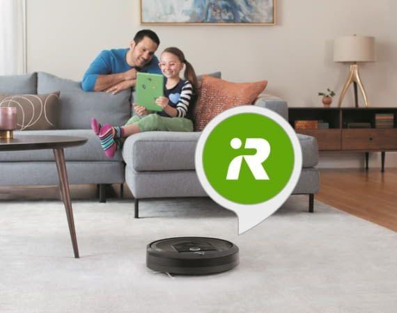 Der iRobot Home Alexa Skill macht den Saugroboter noch smarter