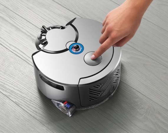 Futuristisch und kraftvoll: Dyson 360 Eye kann sowohl optisch als auch in der Reinigungsleistung einiges