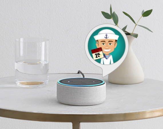 Der Reisecountdown Alexa Skill hilft Menschen mit Fernweh