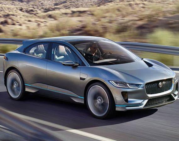 Jaguar I-PACE: Das erste Elektroauto von Jaguar leistet 400 PS
