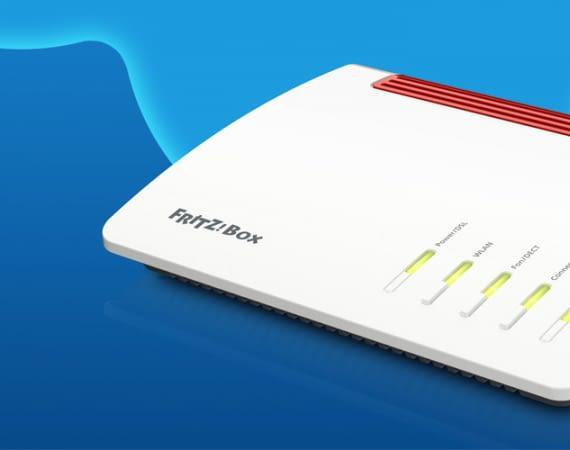 Das neue Modell FRITZ!Box 7590 beschleunigt die Internetverbindung