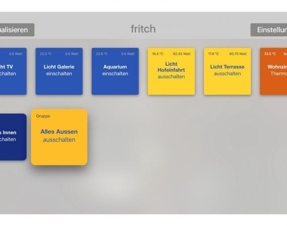 fritch App - FRITZ!DECT 200 Aktoren über FRITZ!Box schalten