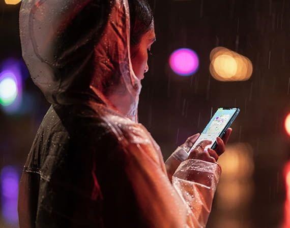 Apple iPhone XR ist wasser- und wetterfest