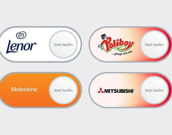 Amazons Virtual Dash Buttons erlauben das einfache Nachbestellen von häufig verwendeten Produkten