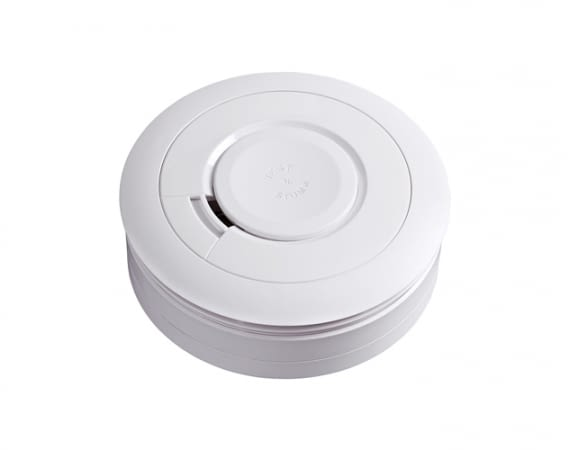 Die Rauchwarnmelder der Ei650-Serie blinken nicht, sind wartungsarm und lassen sich vernetzen
