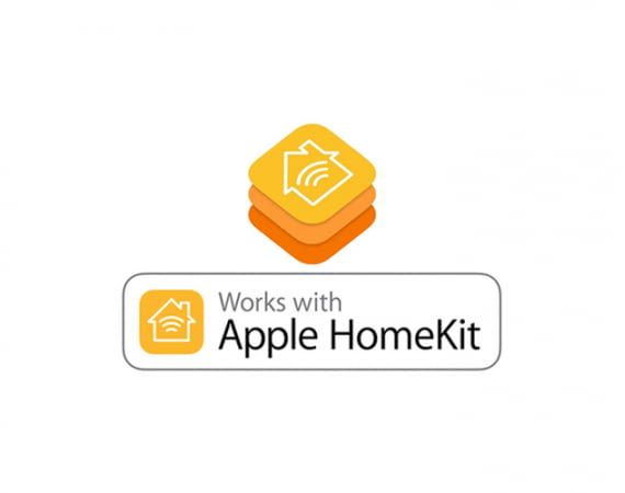 "HomeKit-kompatible Geräte tragen das ""works with HomeKit""-Siegel"
