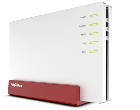 Der Highend-VDSL-Router FRITZ!Box 7580 mit Multi-User-MIMO-Technologie