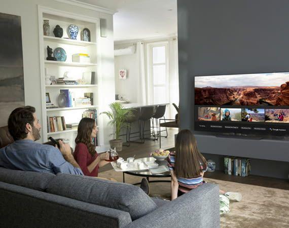 LGs neue OLED- und SUPER UHD-Fernseher 2018 heißen Google Assistant willkommen