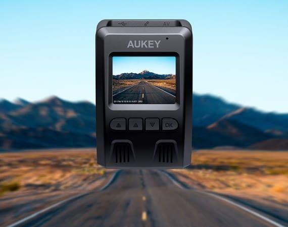 Die AUKEY Dashcam DR02 bietet ein Sichtfeld von 170 Grad
