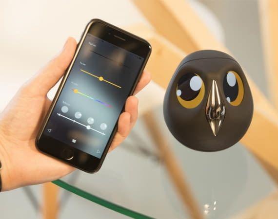 Die Überwachungseule Ulo überrascht mit ungewöhnlich vielen interaktiven Features