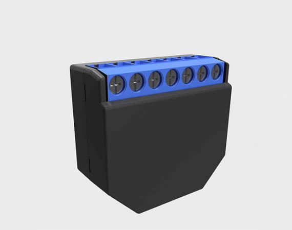 Das WLAN-Unterputzmodul Shelly 2.5 ist noch kleiner als seine beiden Vorgänger Shelly 1 und Shelly 2