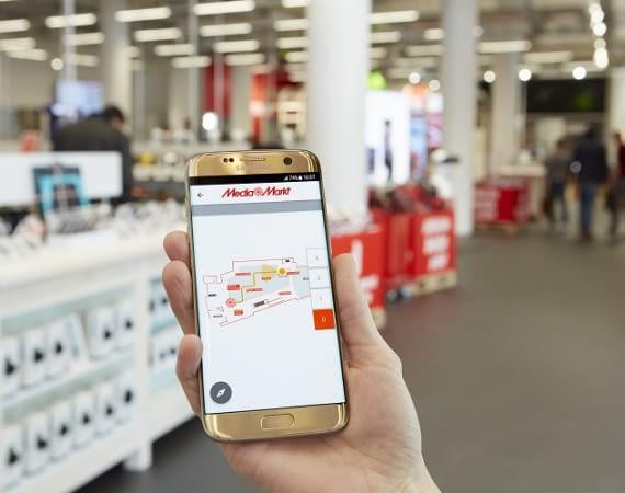 Die StoreGuide App und das Indoor Positioning System von Philips werden derzeit in MediaMarkt-Filialen in den Niederlanden getestet