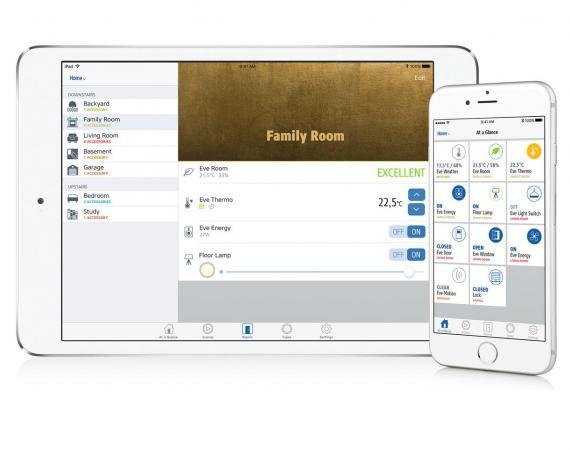 Einen guten Überblick bietet die Eve App