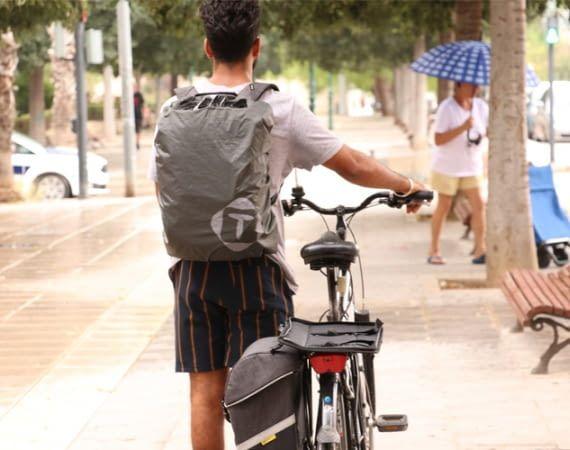 WHEELER ist der optimale Begleiter für Radfahrer