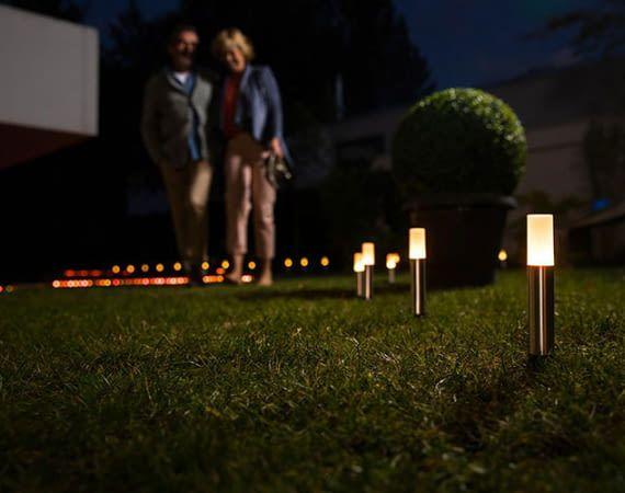 OSRAM LED Gartenleuchten tauchen den Garten auf Wunsch in romantisches Ambiente