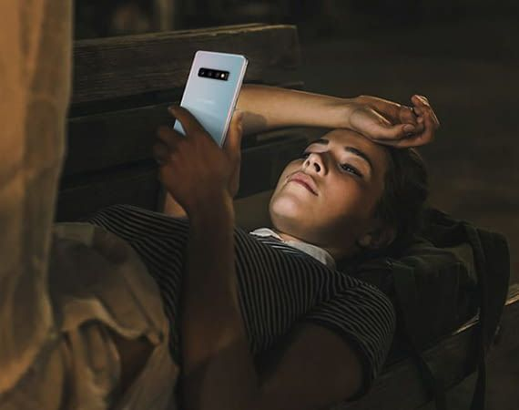 Der Akku des Samsungs Galaxy S10+ sorgt mit 4.100 mAh für eine lange Laufzeit