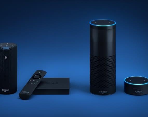 Die Alexa-Familie: Amazon Tap, Fire TV samt Stick, Echo und Dot