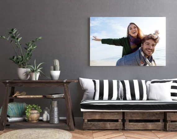 it persönlichen Fotos an den Wänden wird das eigene Zuhause noch viel gemütlicher